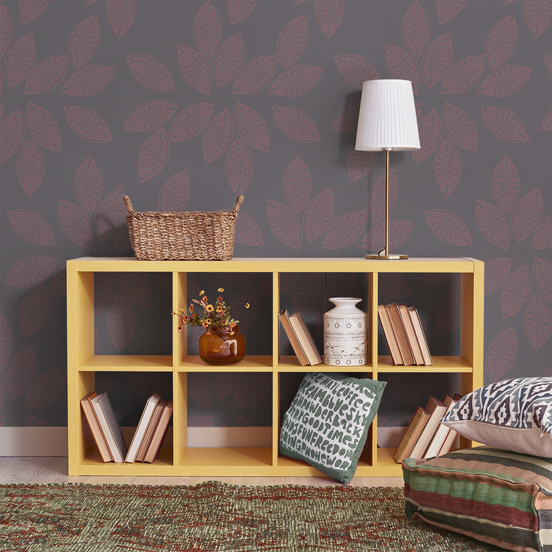 Dory - Smoke Bush <br> Victoria Larson - Trendy Custom Wallpaper | Contemporary Wallpaper Designs | The Detroit Wallpaper Co.