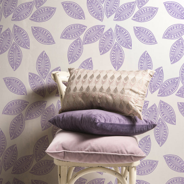 Dory - Picket <br> Victoria Larson - The Detroit Wallpaper Co.
