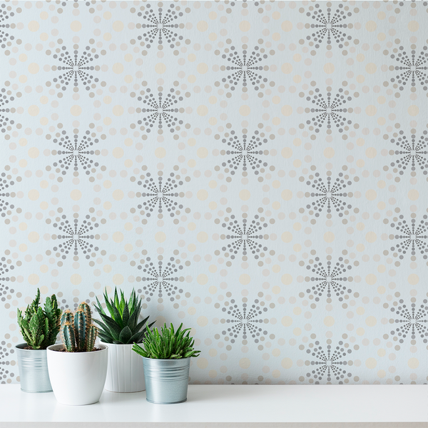 Dot Gain - Breeze - Trendy Custom Wallpaper | Contemporary Wallpaper Designs | The Detroit Wallpaper Co.