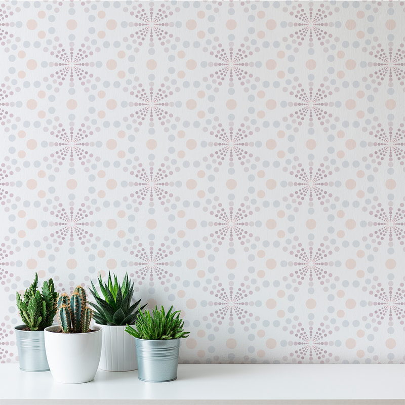 Dot Gain - Soda Pop - Trendy Custom Wallpaper | Contemporary Wallpaper Designs | The Detroit Wallpaper Co.