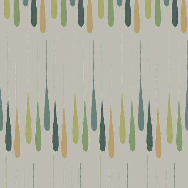 Drip - Conservation - Trendy Custom Wallpaper | Contemporary Wallpaper Designs | The Detroit Wallpaper Co.
