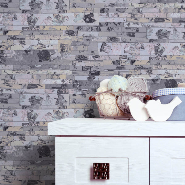 Everything's Fine - Trendy Custom Wallpaper | Contemporary Wallpaper Designs | The Detroit Wallpaper Co.