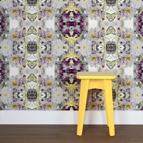 Explosion <br> Nanci & Allen Einstein - Trendy Custom Wallpaper | Contemporary Wallpaper Designs | The Detroit Wallpaper Co.
