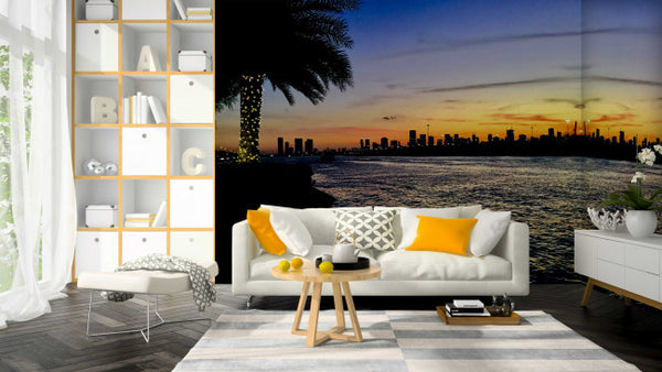 Fisher Island - Trendy Custom Wallpaper | Contemporary Wallpaper Designs | The Detroit Wallpaper Co.