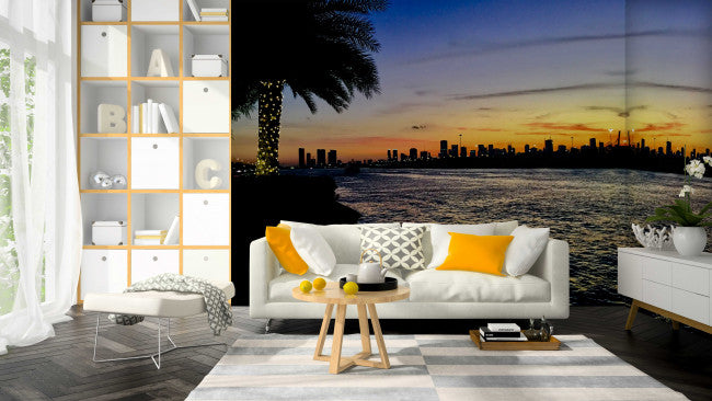 Fisher Island <br> Brenda Rosenberg - Trendy Custom Wallpaper | Contemporary Wallpaper Designs | The Detroit Wallpaper Co.