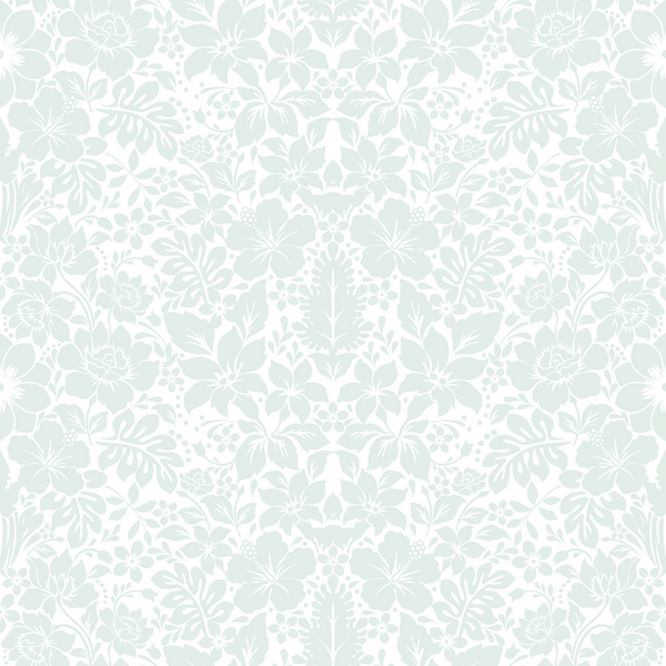 Fleur - Crystal - Trendy Custom Wallpaper | Contemporary Wallpaper Designs | The Detroit Wallpaper Co.