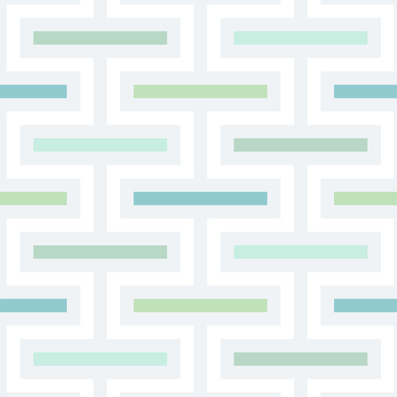 Floating Fret - Fresh - Trendy Custom Wallpaper | Contemporary Wallpaper Designs | The Detroit Wallpaper Co.