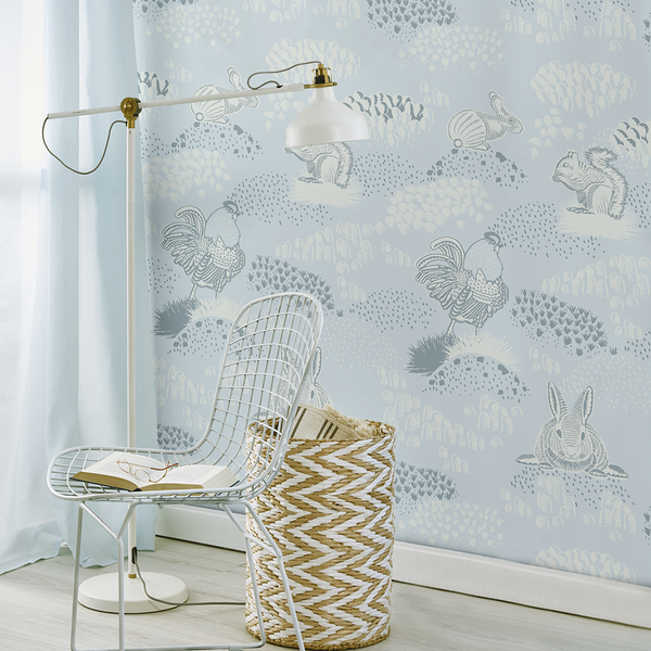 Foraging - Cottage <br> Elizabeth Salonen - Trendy Custom Wallpaper | Contemporary Wallpaper Designs | The Detroit Wallpaper Co.