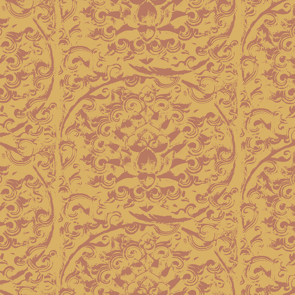 Forbidden City - Ming - Trendy Custom Wallpaper | Contemporary Wallpaper Designs | The Detroit Wallpaper Co.