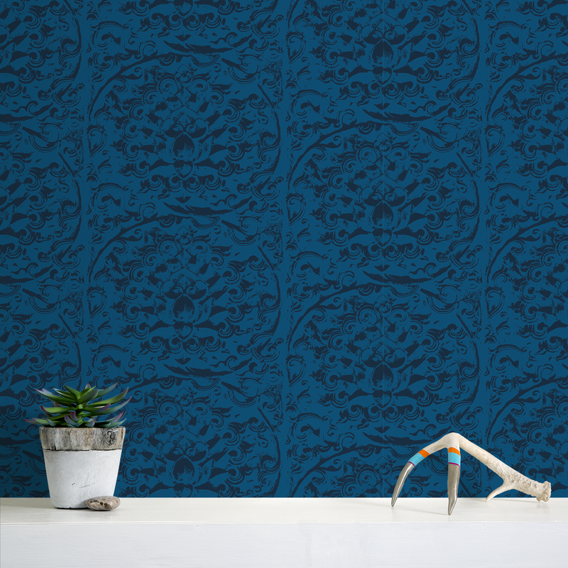 Forbidden City - Palace - Trendy Custom Wallpaper | Contemporary Wallpaper Designs | The Detroit Wallpaper Co.