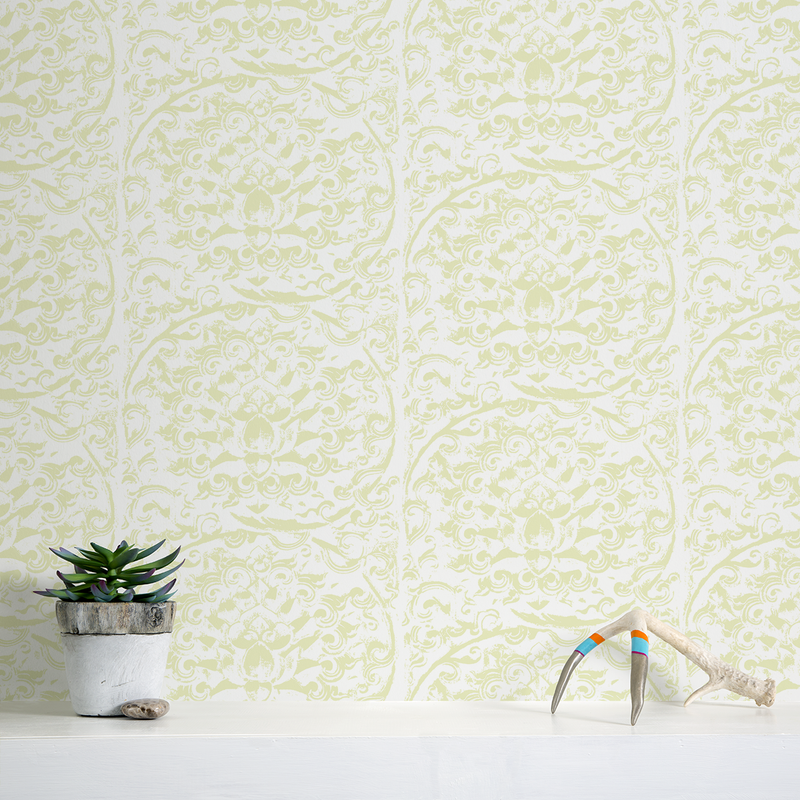 Forbidden City - Terrace - Trendy Custom Wallpaper | Contemporary Wallpaper Designs | The Detroit Wallpaper Co.