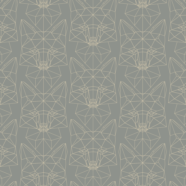 Foxtrot - Liner - Trendy Custom Wallpaper | Contemporary Wallpaper Designs | The Detroit Wallpaper Co.