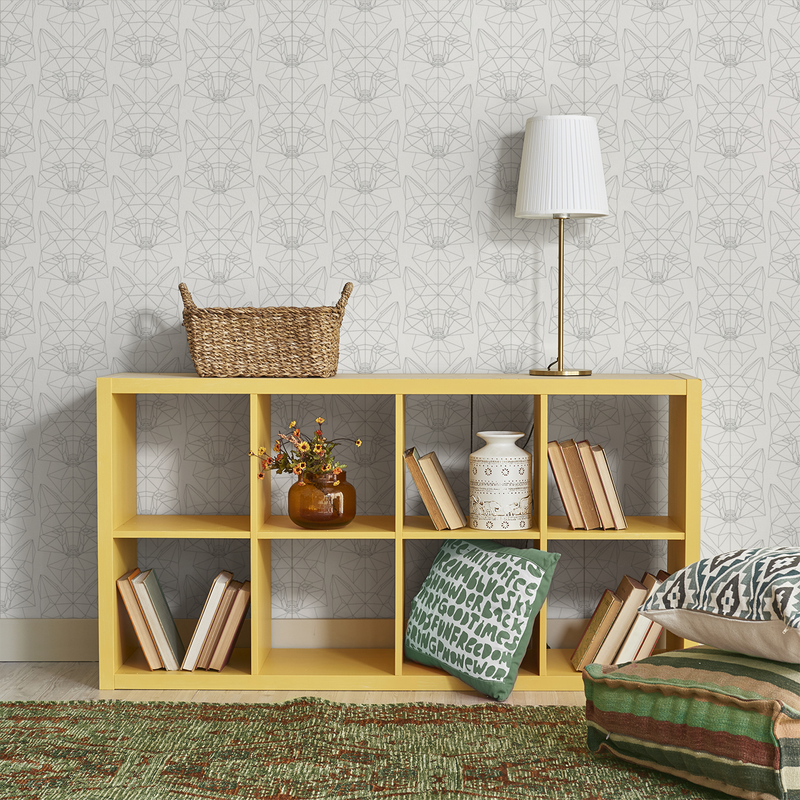 Foxtrot - Pencil - Trendy Custom Wallpaper | Contemporary Wallpaper Designs | The Detroit Wallpaper Co.