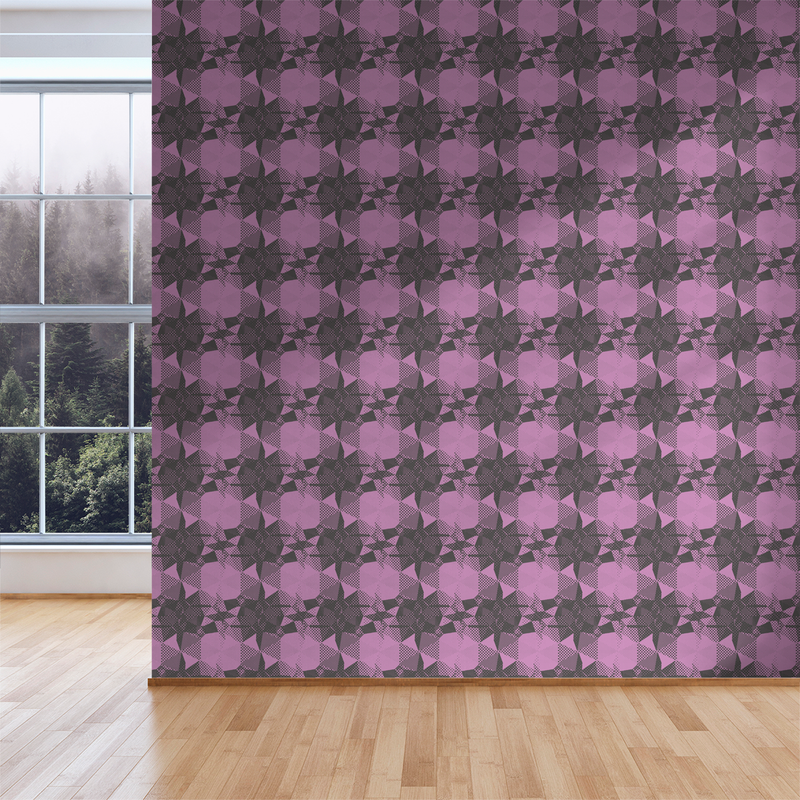 Fractured - Idea - Trendy Custom Wallpaper | Contemporary Wallpaper Designs | The Detroit Wallpaper Co.