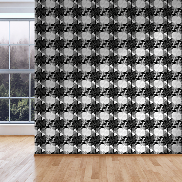 Fractured - Skull - Trendy Custom Wallpaper | Contemporary Wallpaper Designs | The Detroit Wallpaper Co.