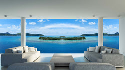 French Polynesia <br> Brenda Rosenberg - Trendy Custom Wallpaper | Contemporary Wallpaper Designs | The Detroit Wallpaper Co.