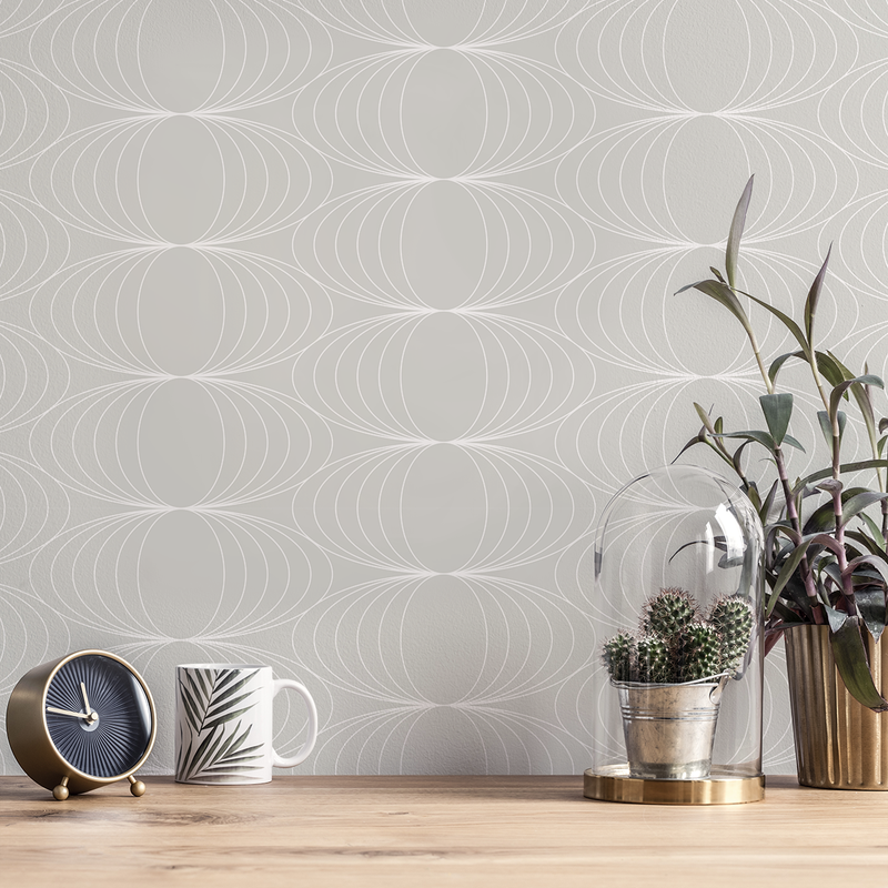 Globe - Soft - Trendy Custom Wallpaper | Contemporary Wallpaper Designs | The Detroit Wallpaper Co.