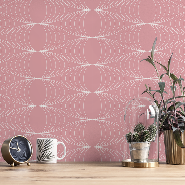 Globe - Sugar - Trendy Custom Wallpaper | Contemporary Wallpaper Designs | The Detroit Wallpaper Co.