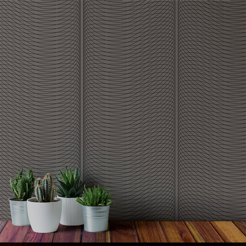 Groovy - Tubular - Trendy Custom Wallpaper | Contemporary Wallpaper Designs | The Detroit Wallpaper Co.