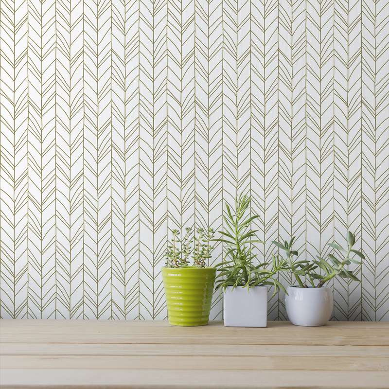 Hand Me Down - Spun - Trendy Custom Wallpaper | Contemporary Wallpaper Designs | The Detroit Wallpaper Co.