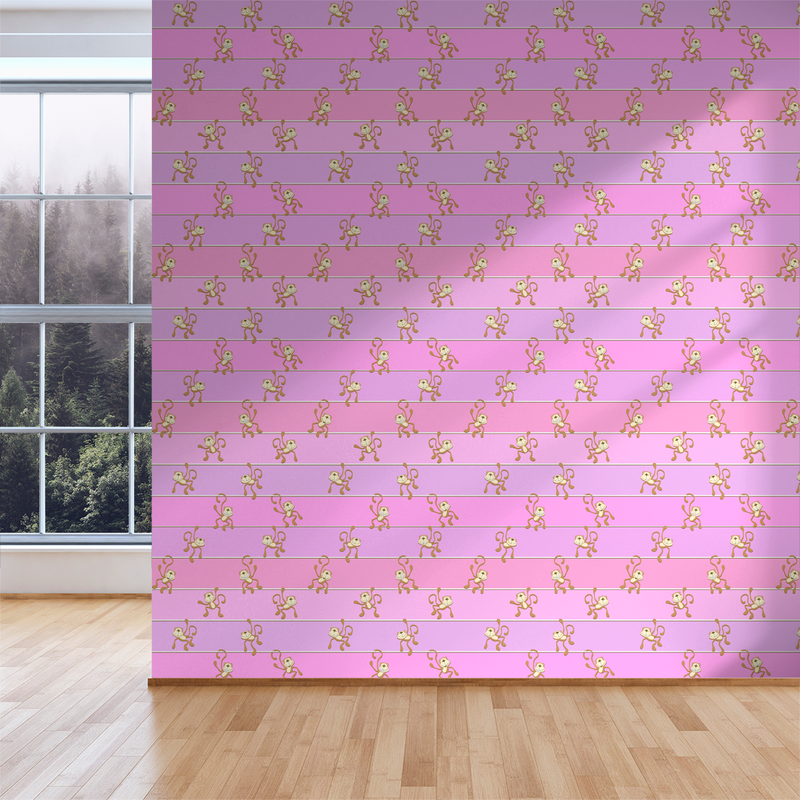 Hanging Out - Gumdrop - Trendy Custom Wallpaper | Contemporary Wallpaper Designs | The Detroit Wallpaper Co.