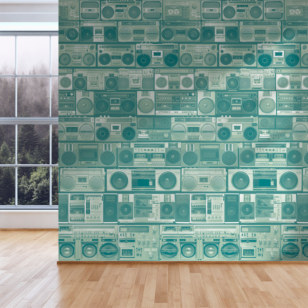 HiFi - Treble - Trendy Custom Wallpaper | Contemporary Wallpaper Designs | The Detroit Wallpaper Co.