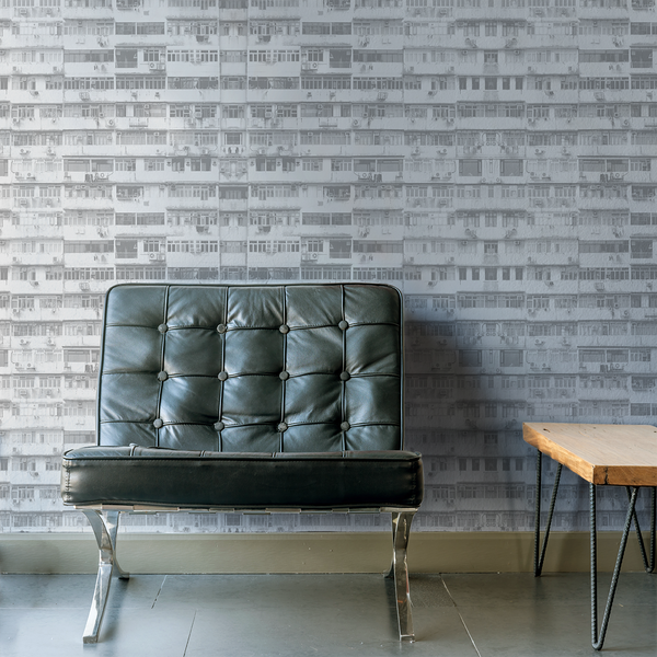 High Rise - Layered - Trendy Custom Wallpaper | Contemporary Wallpaper Designs | The Detroit Wallpaper Co.
