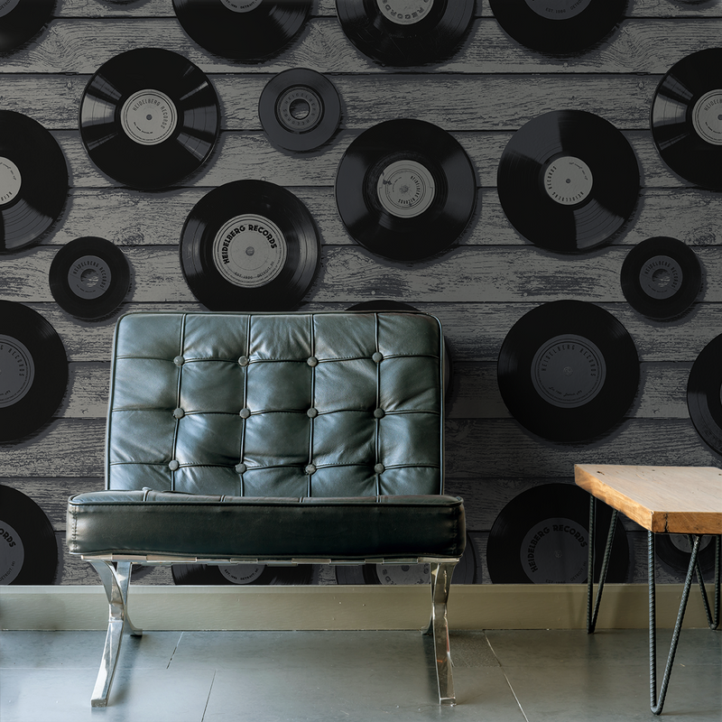 House of Soul - Jazz <br> Heidelberg Project - Trendy Custom Wallpaper | Contemporary Wallpaper Designs | The Detroit Wallpaper Co.