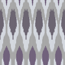 Ikat - Demure - Trendy Custom Wallpaper | Contemporary Wallpaper Designs | The Detroit Wallpaper Co.