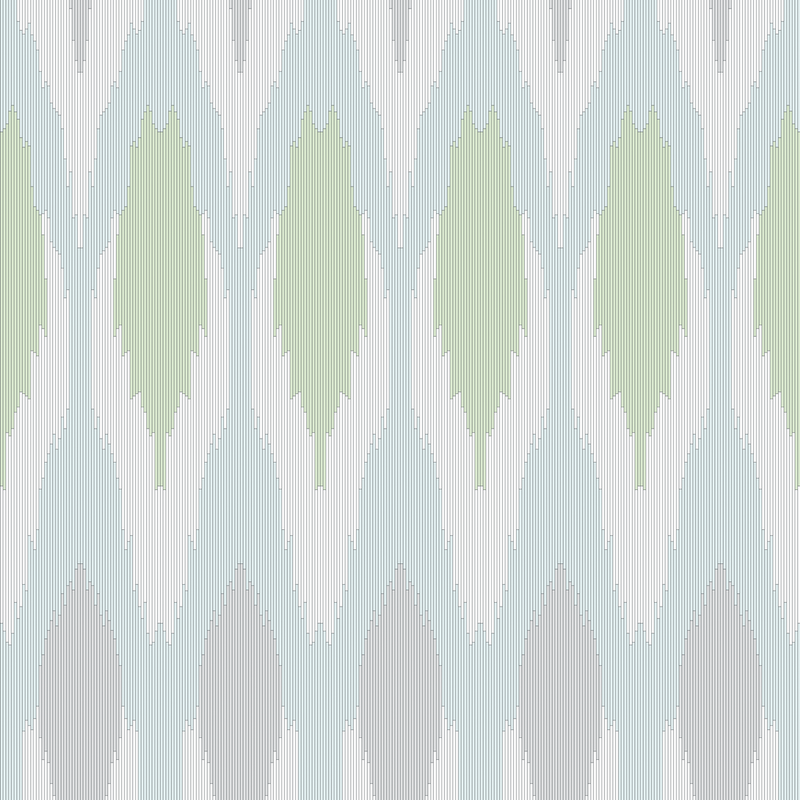 Ikat - Soothing - Trendy Custom Wallpaper | Contemporary Wallpaper Designs | The Detroit Wallpaper Co.