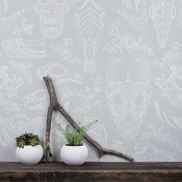 Inked - Casual - Trendy Custom Wallpaper | Contemporary Wallpaper Designs | The Detroit Wallpaper Co.