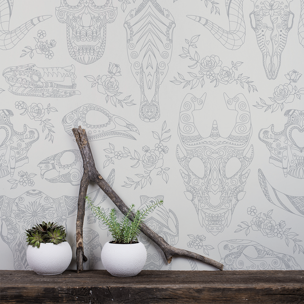 Inked - Sublime - Trendy Custom Wallpaper | Contemporary Wallpaper Designs | The Detroit Wallpaper Co.