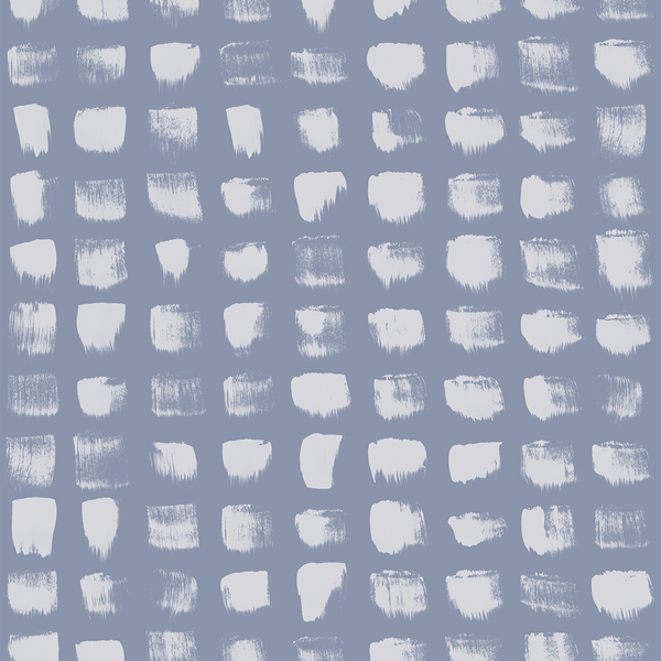 Inkwell - Blue <br> Elizabeth Salonen - Trendy Custom Wallpaper | Contemporary Wallpaper Designs | The Detroit Wallpaper Co.