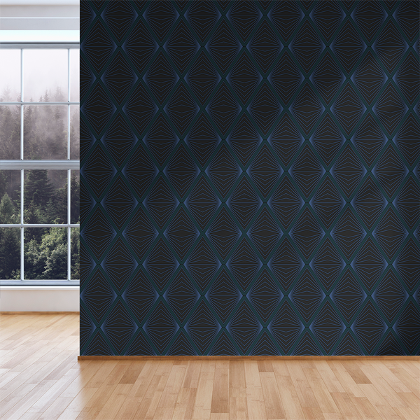 Inner Diamond - Vader - Trendy Custom Wallpaper | Contemporary Wallpaper Designs | The Detroit Wallpaper Co.