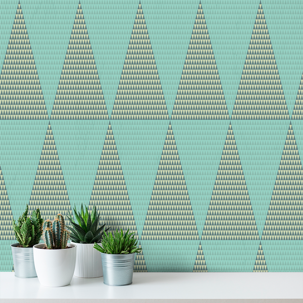 Isolove - Mountain - Trendy Custom Wallpaper | Contemporary Wallpaper Designs | The Detroit Wallpaper Co.