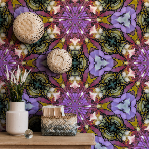 Kaleidoscope - Uncommon - Trendy Custom Wallpaper | Contemporary Wallpaper Designs | The Detroit Wallpaper Co.