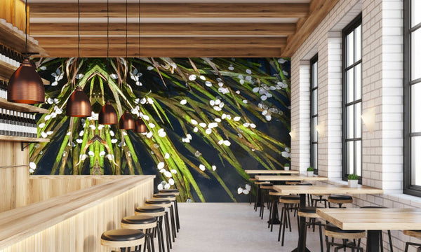 Kyoto Leaves - Trendy Custom Wallpaper | Contemporary Wallpaper Designs | The Detroit Wallpaper Co.