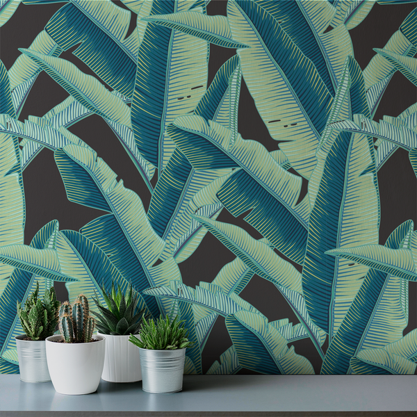 Lanai - Miami - Trendy Custom Wallpaper | Contemporary Wallpaper Designs | The Detroit Wallpaper Co.