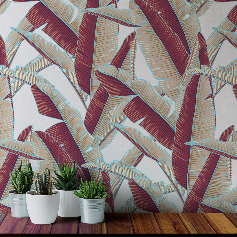 Lanai - Siesta - Trendy Custom Wallpaper | Contemporary Wallpaper Designs | The Detroit Wallpaper Co.