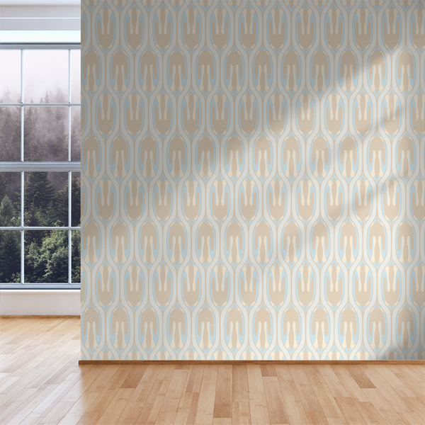Leaf - Beach - Trendy Custom Wallpaper | Contemporary Wallpaper Designs | The Detroit Wallpaper Co.