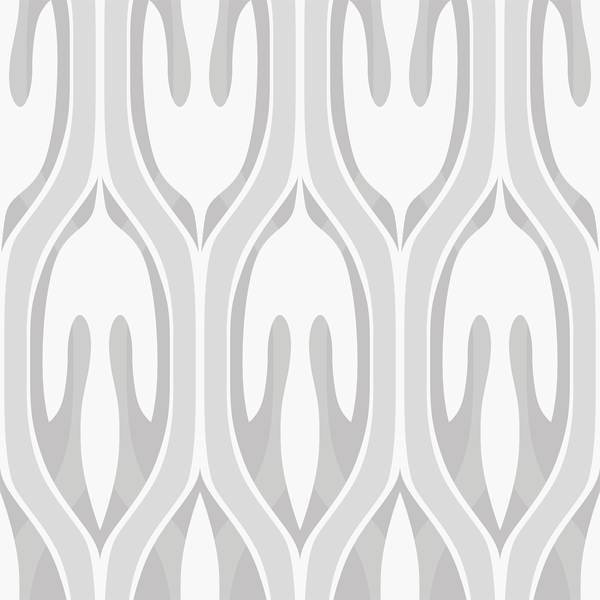 Leaf - Muted - Trendy Custom Wallpaper | Contemporary Wallpaper Designs | The Detroit Wallpaper Co.