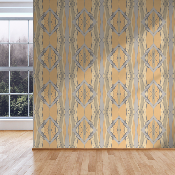 Lines Crossed - Haight - Trendy Custom Wallpaper | Contemporary Wallpaper Designs | The Detroit Wallpaper Co.