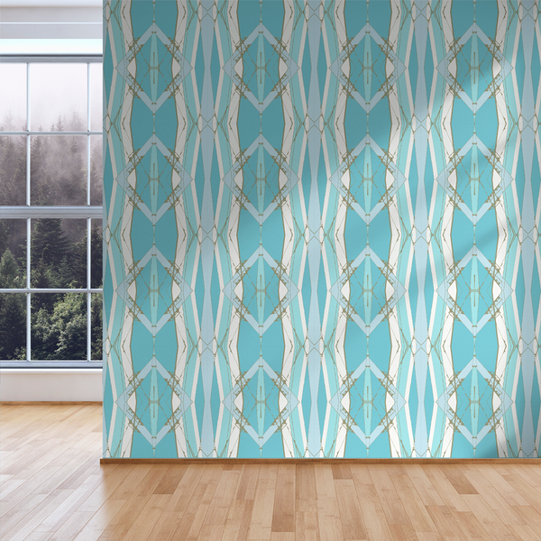 Lines Crossed - Tenderloin - Trendy Custom Wallpaper | Contemporary Wallpaper Designs | The Detroit Wallpaper Co.