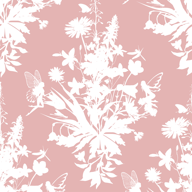 Madame Fairy - Hidden - Trendy Custom Wallpaper | Contemporary Wallpaper Designs | The Detroit Wallpaper Co.