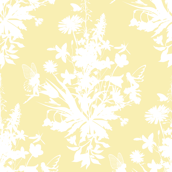 Madame Fairy - Lily - Trendy Custom Wallpaper | Contemporary Wallpaper Designs | The Detroit Wallpaper Co.