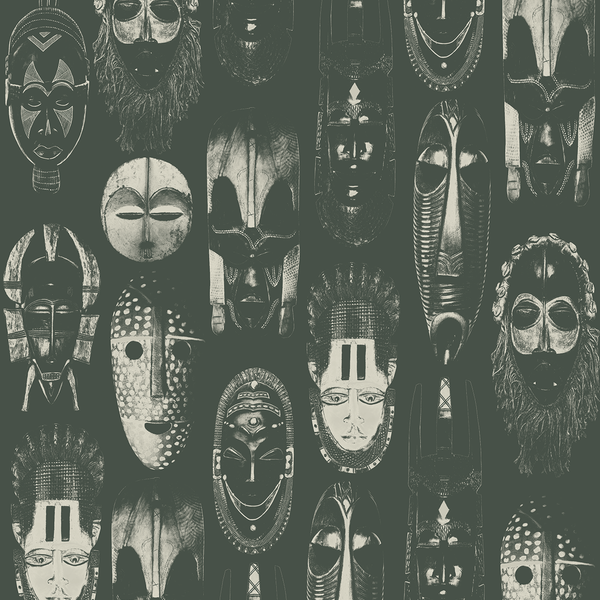 Masked - Heritage - Trendy Custom Wallpaper | Contemporary Wallpaper Designs | The Detroit Wallpaper Co.