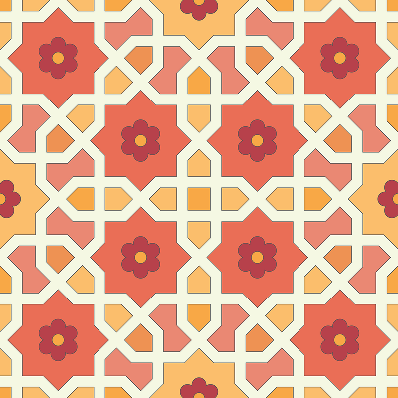 Morocco - Fez - Trendy Custom Wallpaper | Contemporary Wallpaper Designs | The Detroit Wallpaper Co.