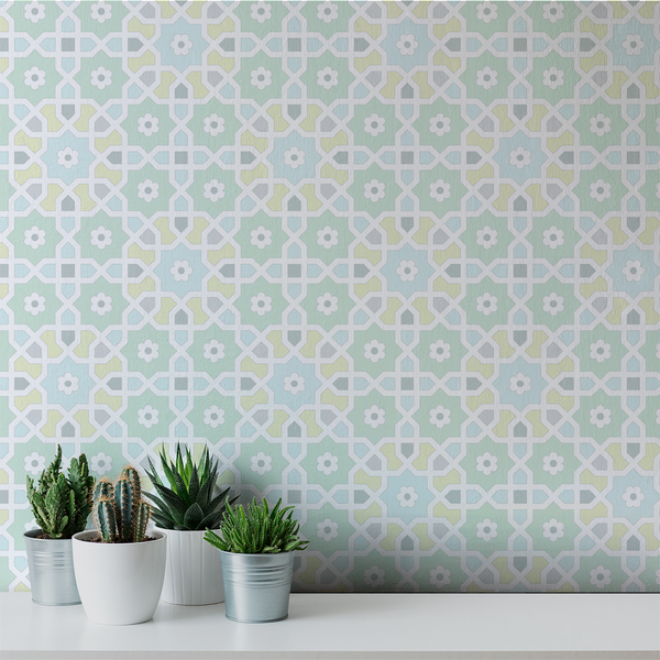 Morocco - Tangier - Trendy Custom Wallpaper | Contemporary Wallpaper Designs | The Detroit Wallpaper Co.