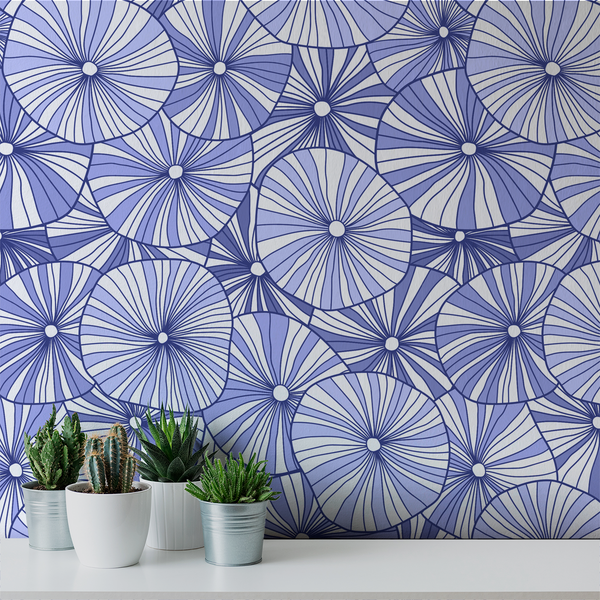Mushroom - Bloom - Trendy Custom Wallpaper | Contemporary Wallpaper Designs | The Detroit Wallpaper Co.