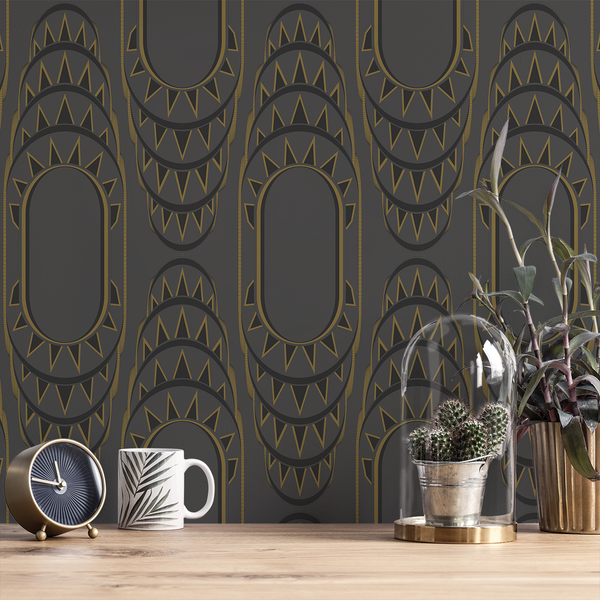 NY NY - Beacon - Trendy Custom Wallpaper | Contemporary Wallpaper Designs | The Detroit Wallpaper Co.